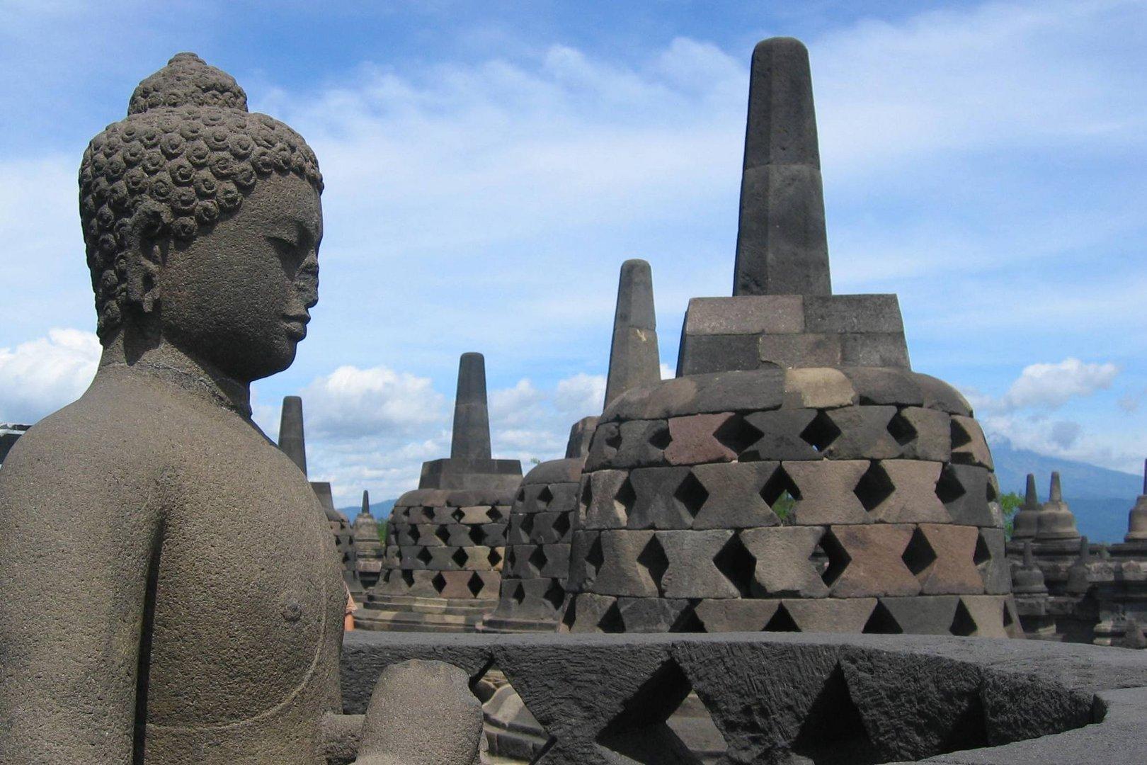 Traumlage Borobudur Java