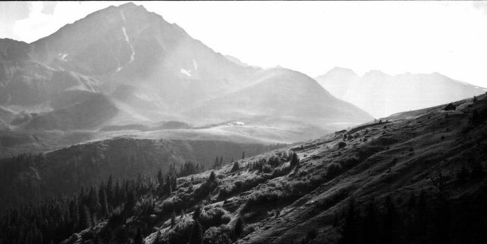Traumland Österreich - eine Idylle in schwarz-weiß