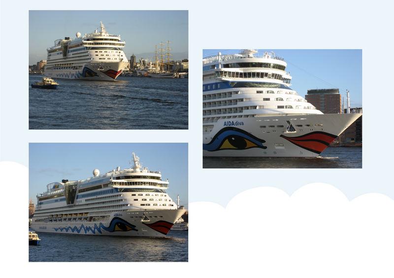 Traumschiff-Collage
