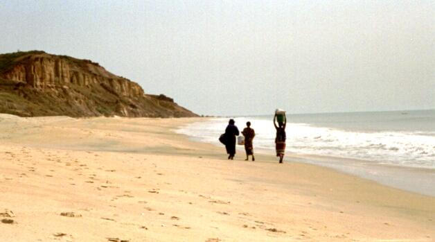 Traumstrand im Senegal