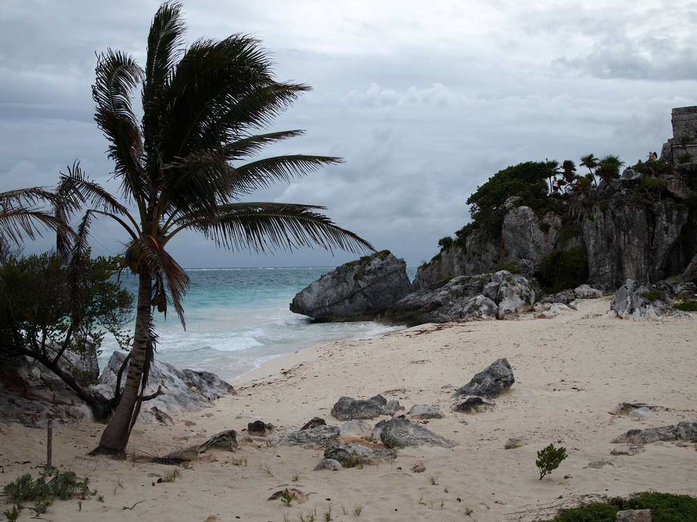 Traumstrand in Tulum Mexico Yucatan