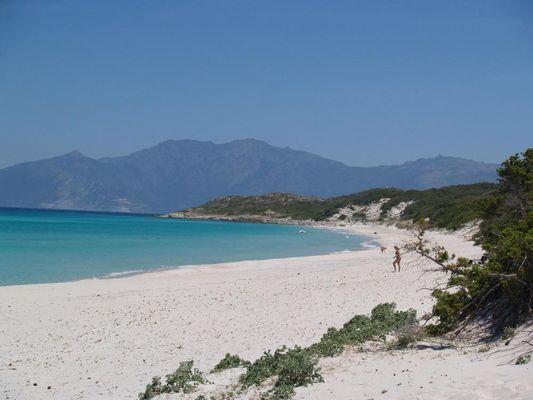 Traumstrand Saleccia auf Korsika