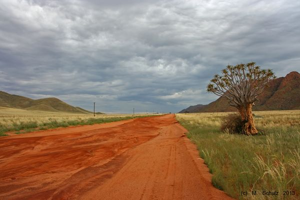 Traumstraße in Namibia