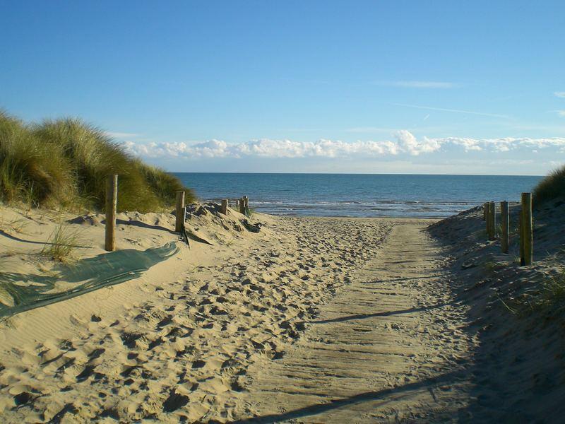 Traumweg zum Strand