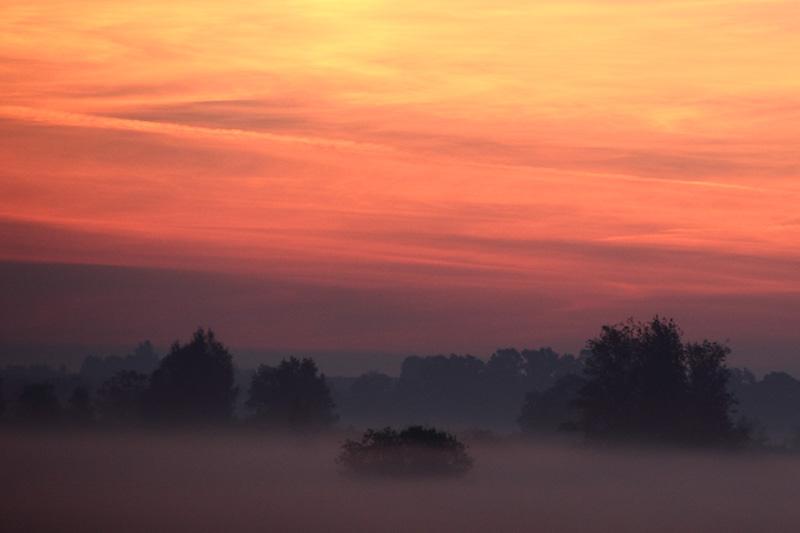 Traumwelt am Morgen
