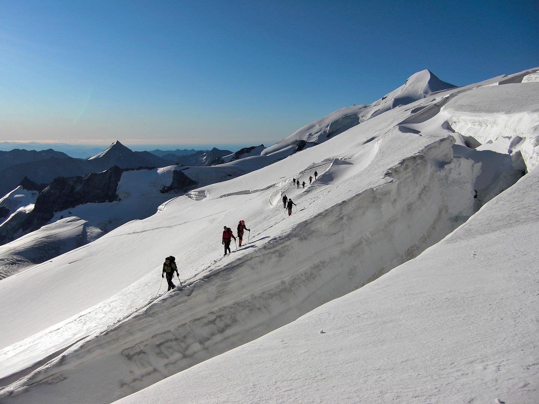 Traumwetter am Gletscher