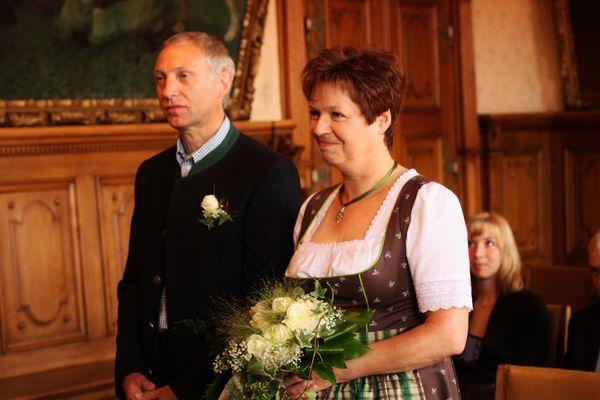 Trauung von Papa und Karin