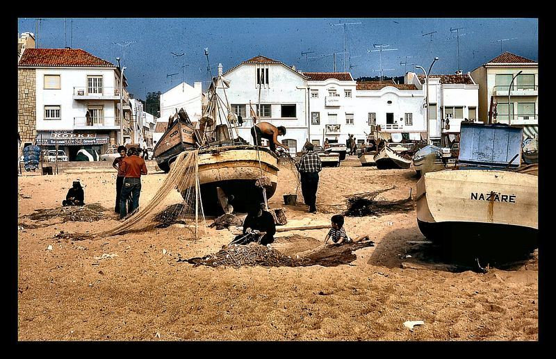 «Travail»   Plage de Nazaré 1969