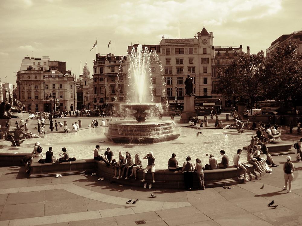 Travalgar Square / London