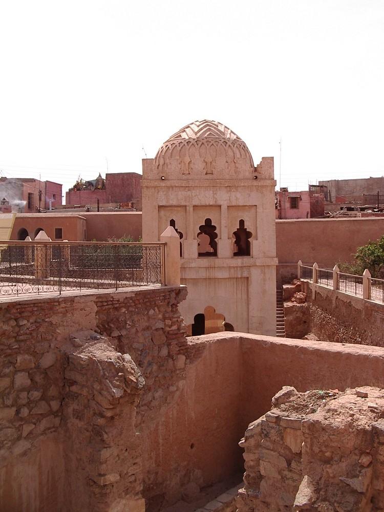 Travaux au coeur de la Medina