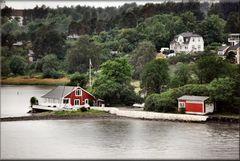 Travel in Oslo Fjord.