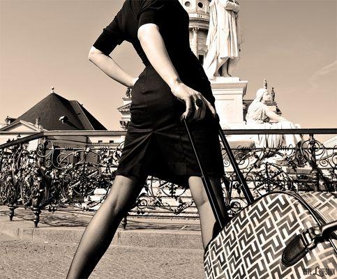 """""""Travelling Mademoiselle V."""""""