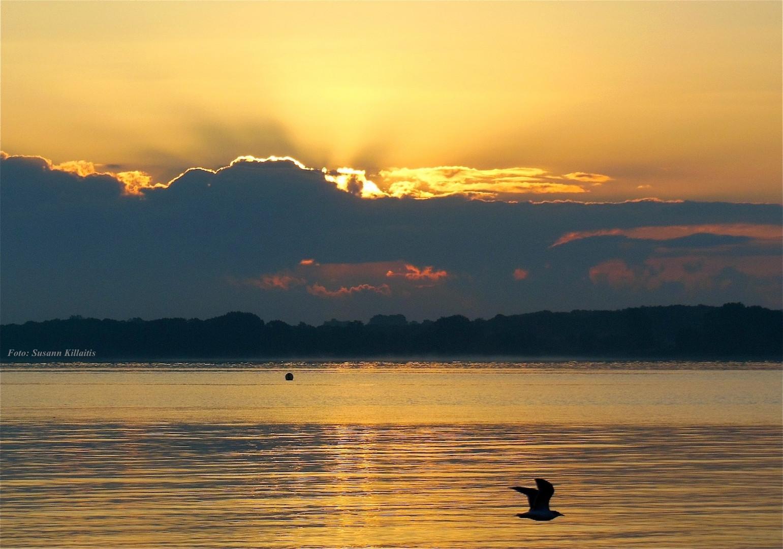 Travemünde-Sonnenaufgang zweites Bild