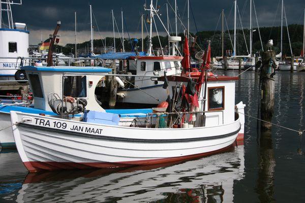 Travemünder Fischerboot