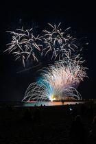 Travemünder Woche Abschluss Feuerwerk 2016
