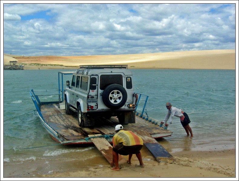 Traversée du lagon....Brésil