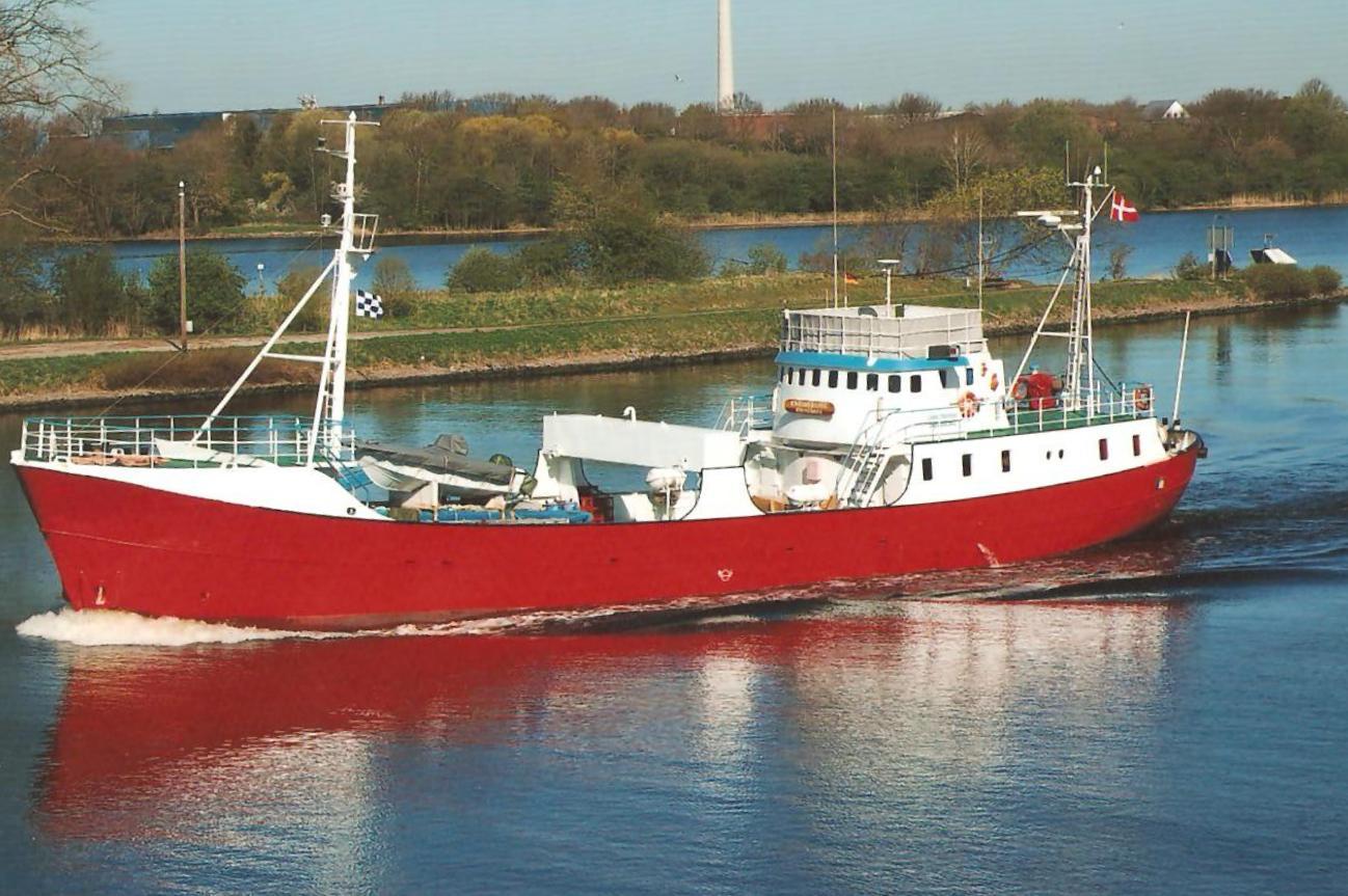 """Trawler """" Christoffer """""""