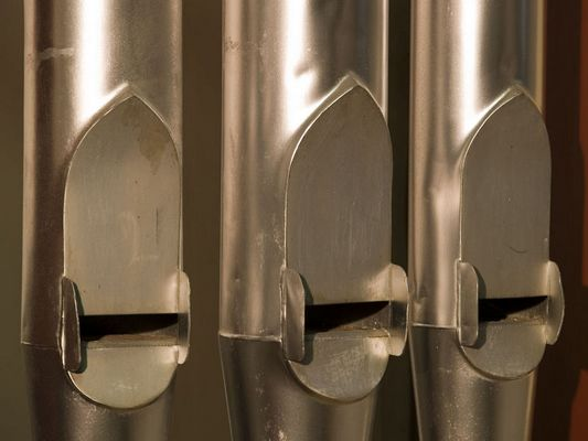 Tre canne d'organo