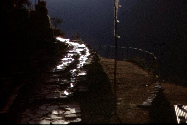 Treckingweg in Nepal