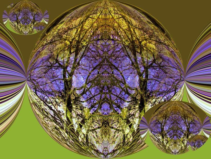 Tree-circle creation