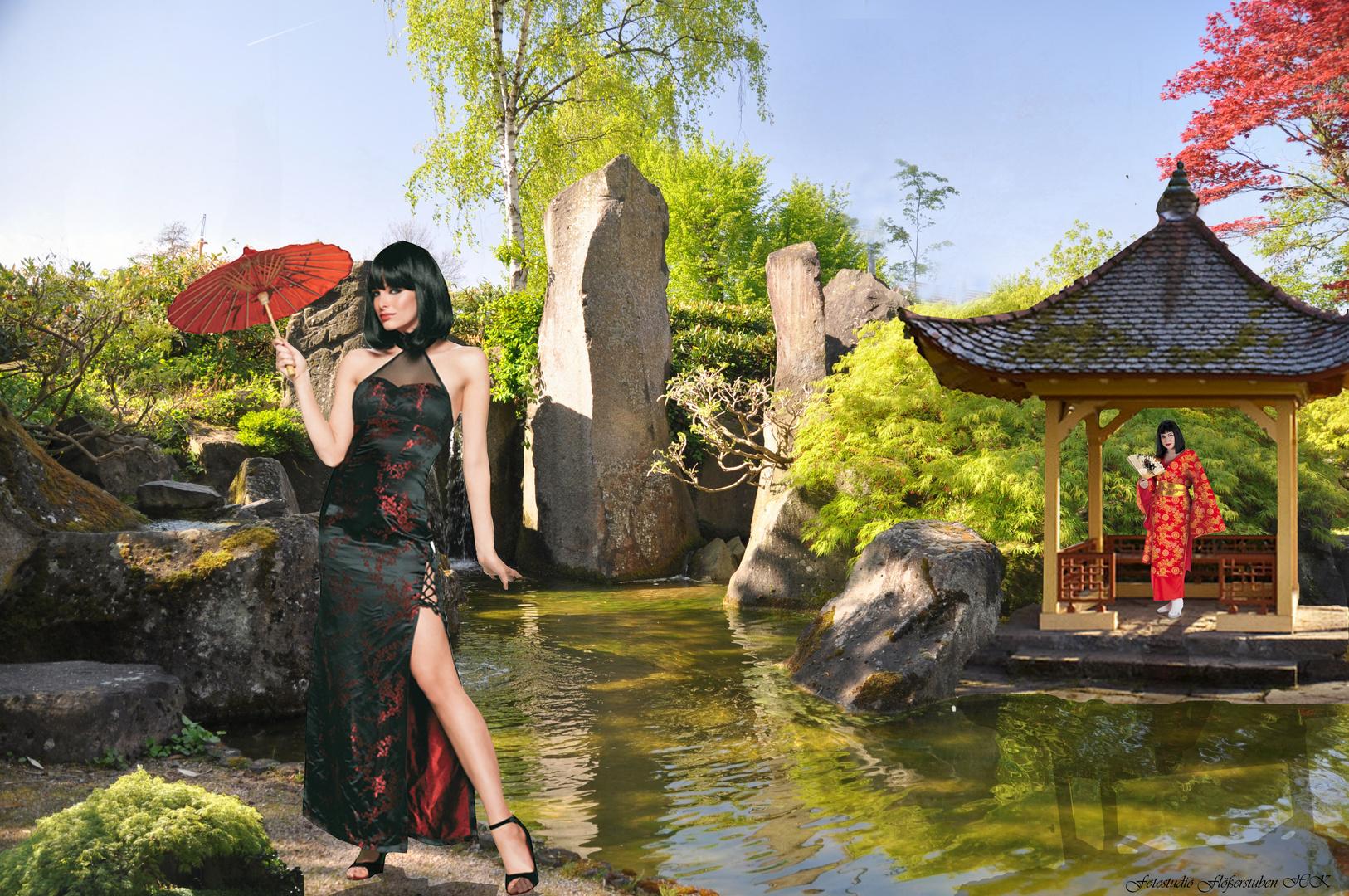 Treff im Japangarten