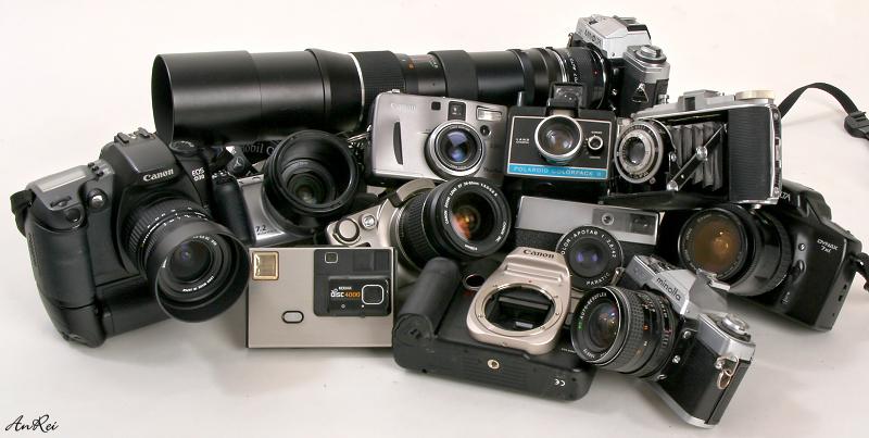 ...Treffen der Kameras...