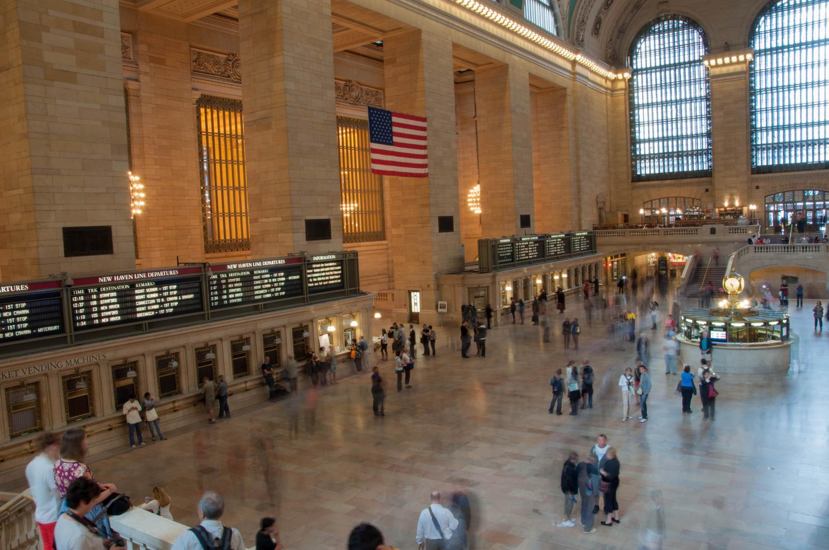 Treiben an Grand Central