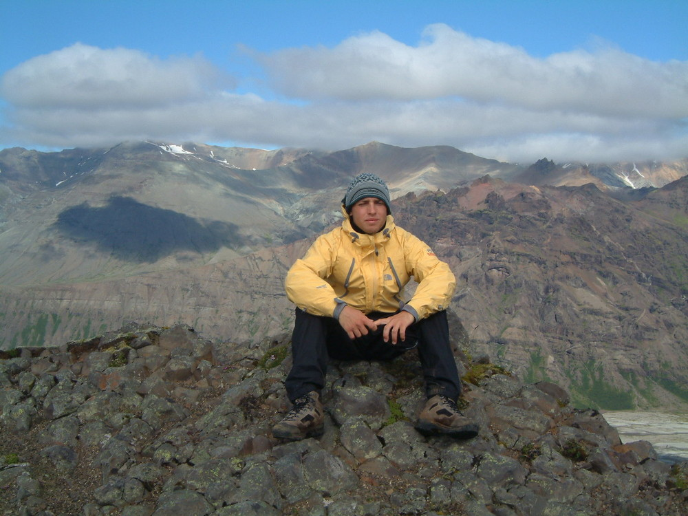 Trekking on Vatnajokull