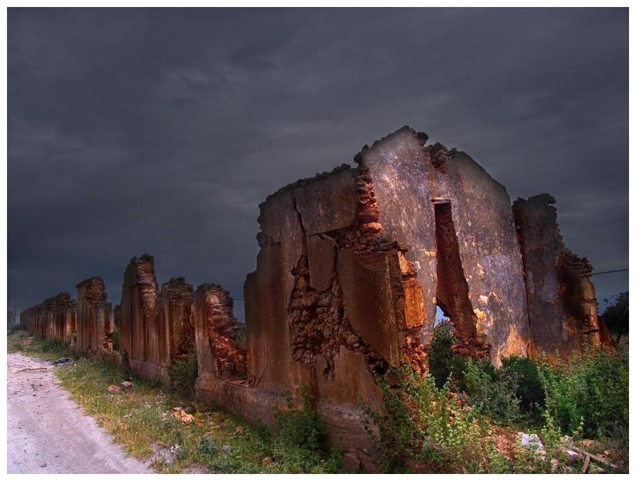 Tren de ruinas