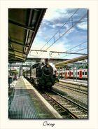 Tren de vapor a Montserrat