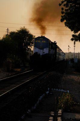 Trenes de la India