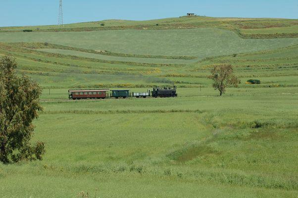 Trenino verde in Sardegna