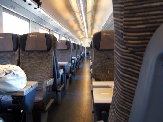 treno freccia bianca