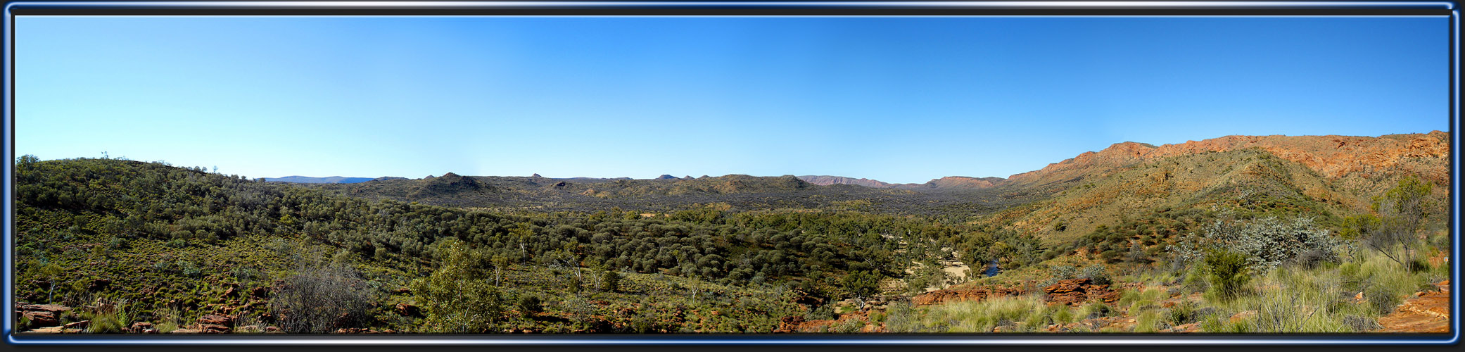 Trephina Gorge, Panorama 2