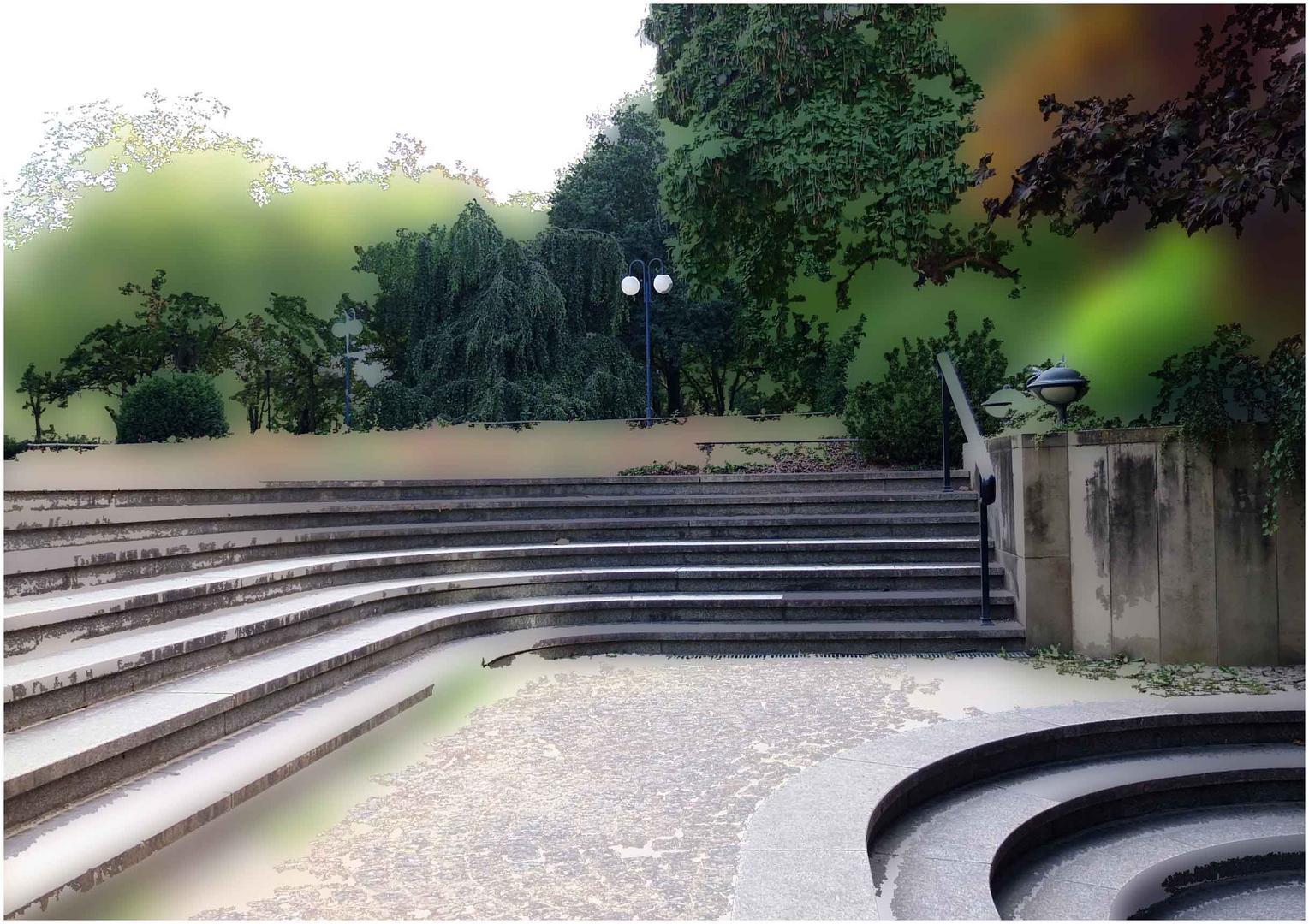 Trepp auf Trepp ab