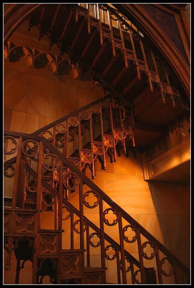 ...Treppe...