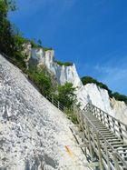Treppe am Kreidefelsen Insel Moen DK