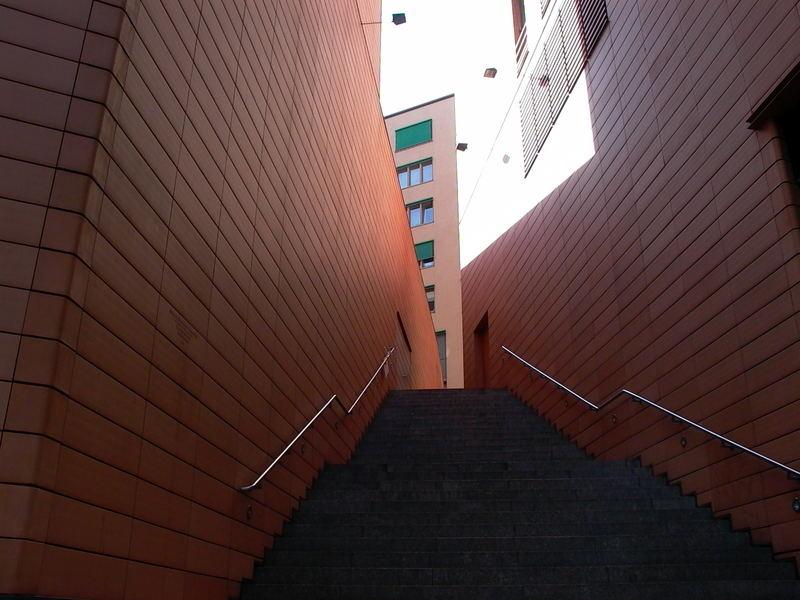 Treppe am Potsdamer platz