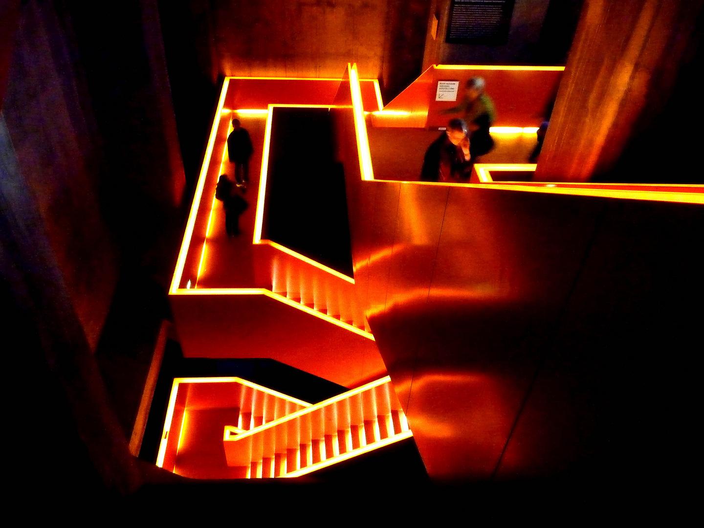 Treppe aus Licht