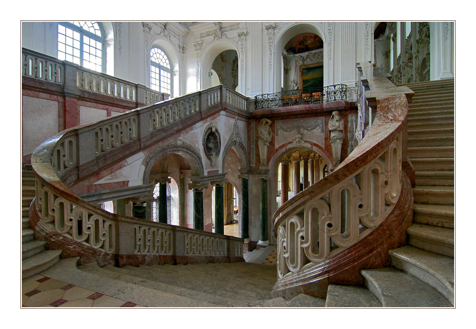 Treppe, barock
