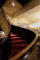 Treppe beim Restaurant L'Escale