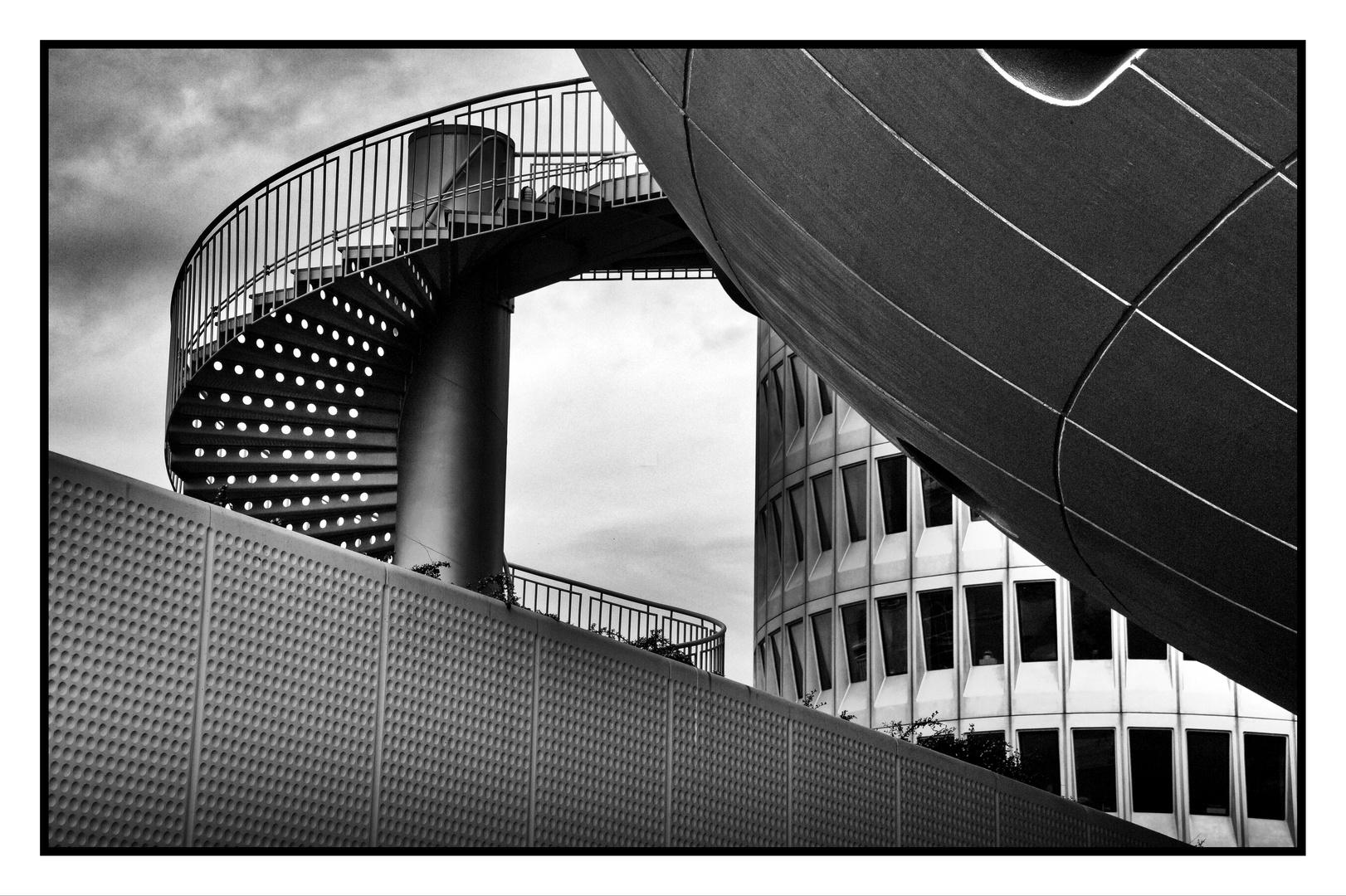 Treppe, BMW Museum, München