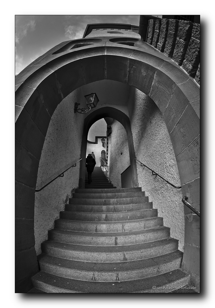 Treppe ...