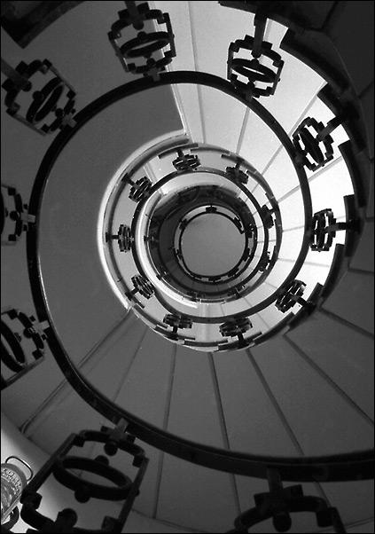 Treppe (Der Buchstabe Q?)