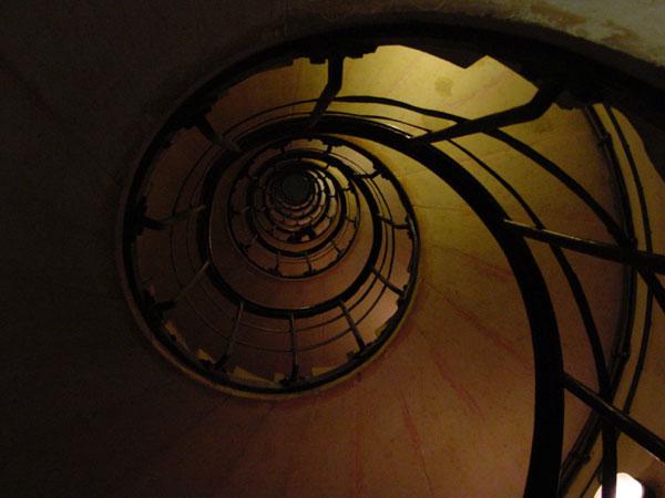 Treppe im Arc De Triomphe