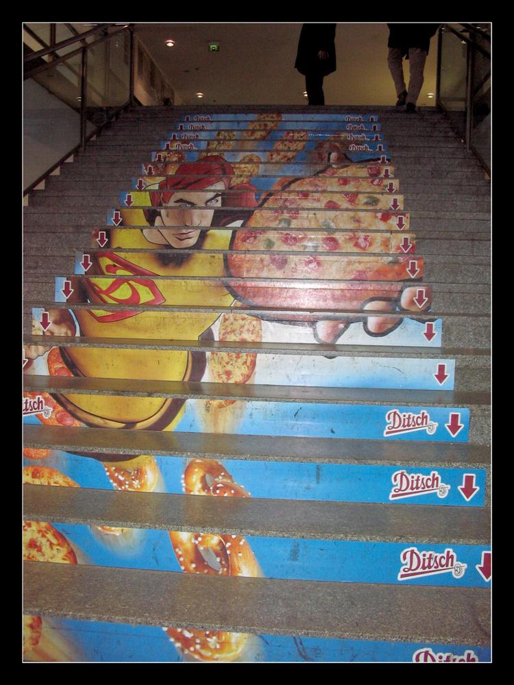 Treppe im Bahnhof-Zoo