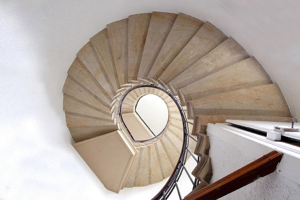 Treppe im Heimathaus Borghorst