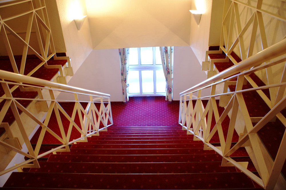 Treppe im Hotel Friedrich Franz-Palais