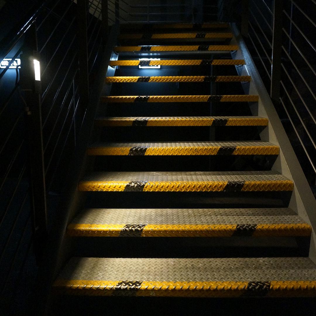 Treppe im Landschaftspark Nord, Duisburg