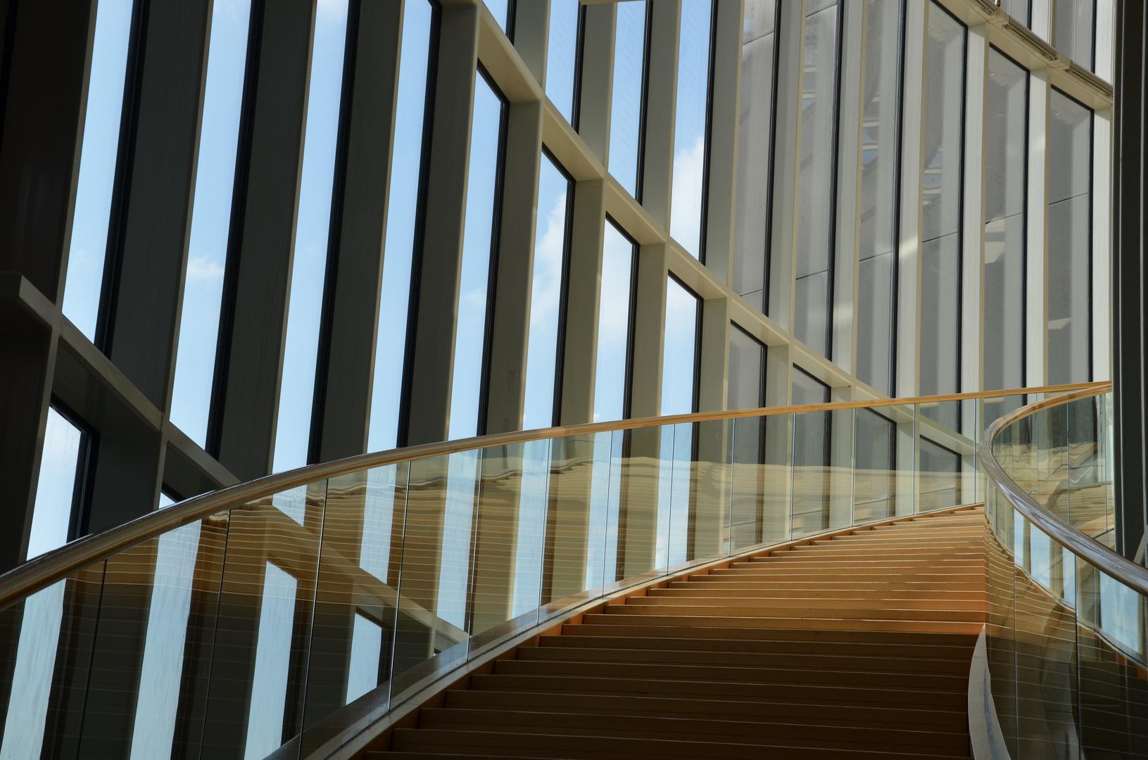 Treppe im Landtag Düsseldorf